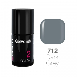Żel hybrydowy GelPolish nr 712 - Dark Grey 7ml